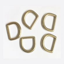 DV749-20-82  20 mm Brass D ring